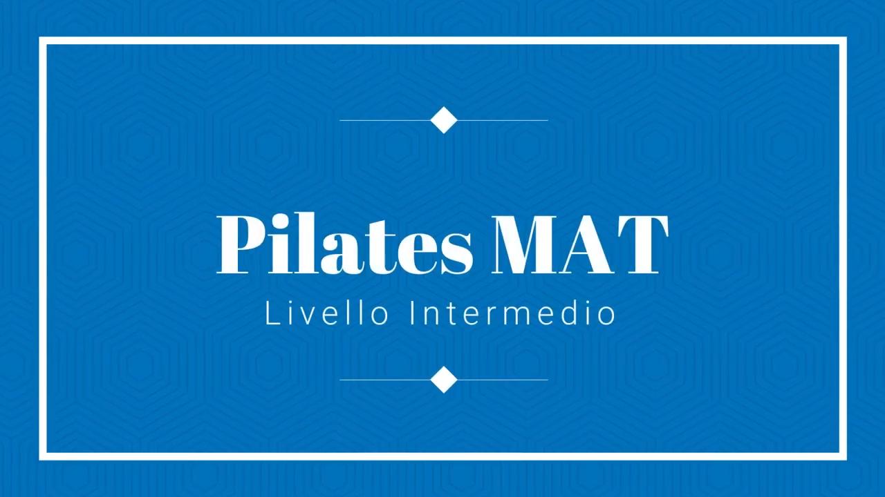 30' Pilates Matwork