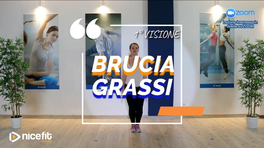 30' Brucia Grassi - Live Zoom