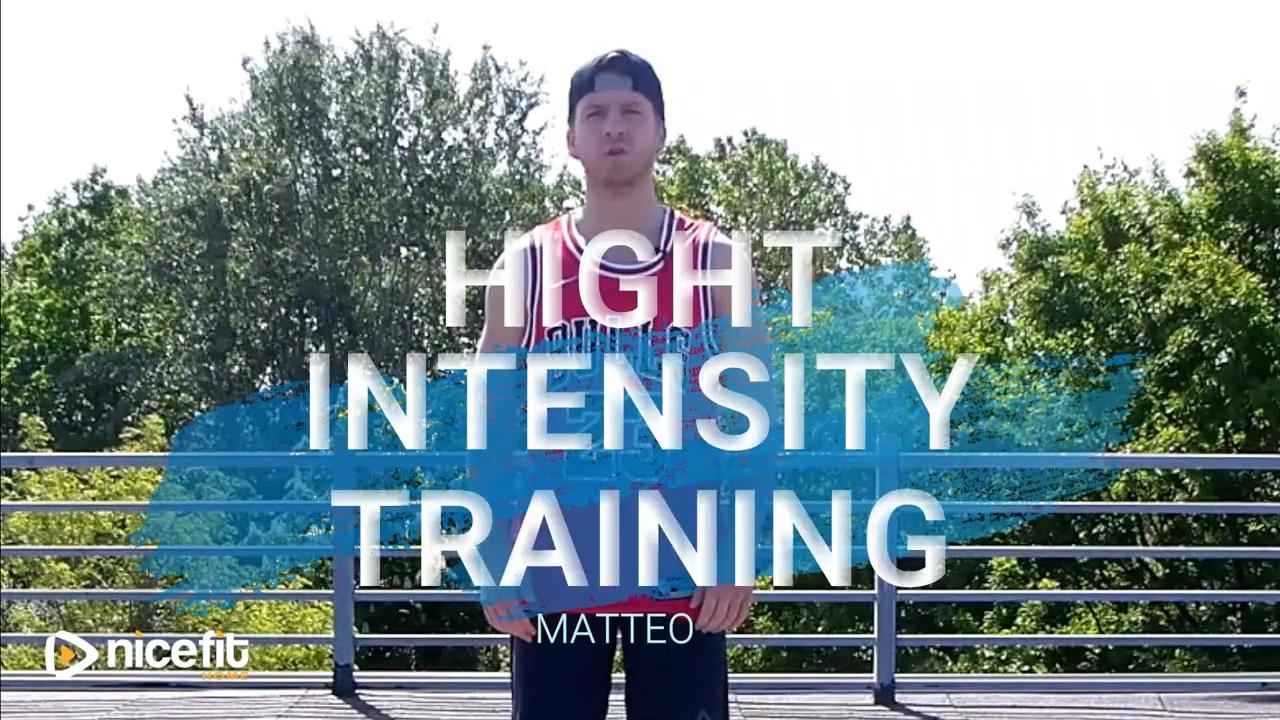 Hight Intensity Training - Matteo